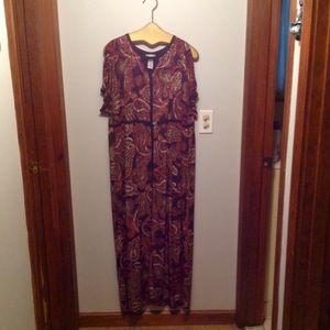 👗Catherine's Women's Sz 2x Paisley Dress